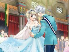 Jelsa wedding by jipzuru on tumblr