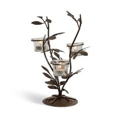 Buy Hosley Decorative Tealight Holder With Clear Glass Online in India - HO532DE20MXFINDFUR - FabFurnish.com