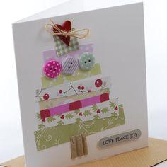Fairy Lights & a Tiny Christmas Sentiment