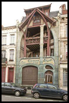 La Maison Coillot, Lille. http://www.fasthotel.com/nord-pas-de-calais/hotel-lille-aeroport