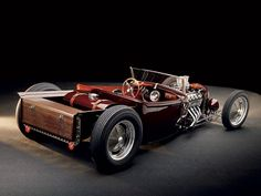 Custom 1929 Ford Roadster Pickup Loaded by Pinkee's - Simply awesome!  Photography by Jim Glader, Planet R