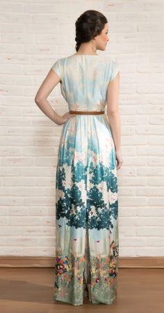 Vestido Longo Picnic | Novidades | Antix Store