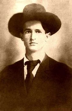 """Robert Reddick """"Bob"""" Dalton (1868 - Oct. 5, 1892) lawman & outlaw. His brother Frank was U.S. Deputy Marshal & Bob served with him on several posses. After Frank was killed, Bob became a Deputy Marshal in Arkansas. Accused of illegally selling whiskey to the Indians & discharge him from his position, he turned outlaw. He led an ill-fated Dalton Gang raid on two banks in Coffeyville, Kansas. Ambushed by town citizens Bob, Bill Power, Grat Dalton & Dick Broadwell were all killed."""