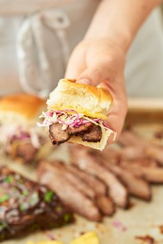Recipe: Slow Cooker Hawaiian Brisket Sandwiches — Quick and Easy Weeknight Dinners