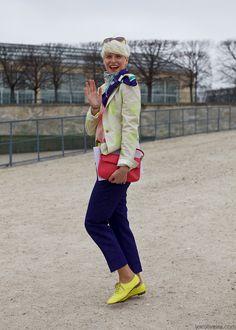 this woman is adorable.  elisa nalin, stylist.