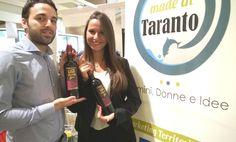 """Le"""" vacanze"""" sono terminate. E' ora di tornare a promuovere territorio, donne, uomini e idee di Taranto e provincia. Oggi si ricomincia con Cantine Capuzzimati, azienda viti-vinicola di San Marzano di San Giuseppe. Sono giovani, giovanissimi come la bella ragazza che ha gentilmente posato per noi. Preferite sempre vino Made in Taranto. Aiutate il territorio a crescere! #Taranto #puglia #vini #Madeintaranto #brand #topbrand Francesco Capuzzimati"""