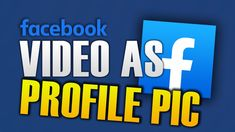 HOW TO PUT VIDEO AS PROFILE PICTURE ON FACEBOOK Facebook Video, Profile, Hacks, Technology, Tips, Pictures, User Profile, Photo Illustration, Glitch