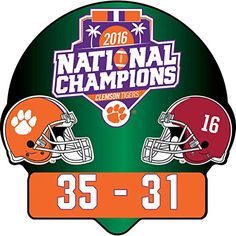 Compare prices on Clemson Tigers BCS Bowl Pins and other Clemson Tigers BCS Bowl Memorabilia. Save money on Clemson BCS Bowl Pins by browsing leading online retailers. Clemson Football, College Football Playoff, Clemson Tigers, Auburn Tigers, Arkansas Razorbacks, Fan Gear, Funny Design, Scores, Tattoo Quotes