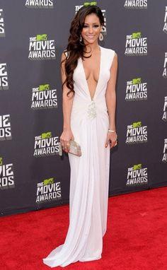 Melanie Iglesias @ MTV Movie Awards 2013 (designer unknown)