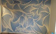 Diy Modern Wall Design With Painters Tape Painters Tape