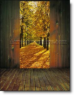 Browse our large selection of peel and stick Wall Murals for indoor or outdoor use in all sizes. Plus tips on mural installation. Wood Path, Large Wall Murals, Door Murals, Room Doors, Door Wall, Wall Spaces, 1 Piece, The Great Outdoors, Paths