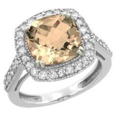 https://ariani-shop.com/10k-white-gold-natural-morganite-ring-cushion-cut-9x9mm-diamond-halo-sizes-5-10 10k White Gold Natural Morganite Ring Cushion-cut 9x9mm Diamond Halo, sizes 5-10