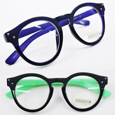 Mens Parisian Chic Rounded Two Tone Glasses By Guylook.com