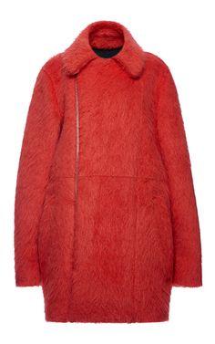Bonded Plush Alpaca Wool Coat by Marni for Preorder on Moda Operandi