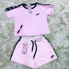 Swag Outfits For Girls, Girls Fashion Clothes, Teen Fashion Outfits, Sporty Outfits, Cute Outfits For Kids, Cute Casual Outfits, Stylish Outfits, Nike Outfits, Aesthetic Clothes
