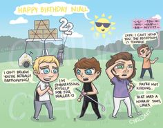 "@cyrilliart: ""The sun wishes you a happy birthday, Nialler !"""