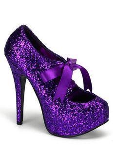 Purple Glitter High Heel Platform Pump - 8, http://www.amazon.com/dp/B003WR347E/ref=cm_sw_r_pi_awdm_6hsktb0FGBYVP