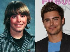 zac efron yearbook photo