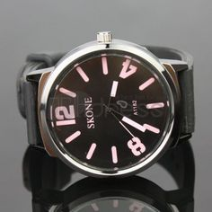 The upscale fashion leather watch
