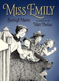 Miss Emily by Burleigh Muten and illustrated by Matt Phelan Discover the mischievous and affectionate side of a revered poet in this adventure about Emily Dickinson, four young friends, and a traveling circus. The Neighbor, Mentor Texts, Chapter Books, Book Girl, Women In History, Historical Fiction, Nonfiction, Childrens Books, Teen Books