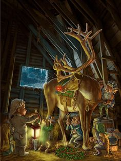 The Night Before Christmas - Digital Art by emmanuel vasquez at touchtalent 34790