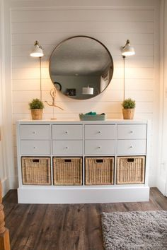 The Perfect Storage and Organizational Kallax IKEA Hacks - The Cottage Market - - IKEA Hack Storage is what it is all about here today! We have The Perfect Storage and Organization Kallax IKEA Hacks out there! Ikea Hacks, Ikea Hack Storage, Diy Hacks, Cube Storage, Tv Stand Ikea Hack, Ikea Shelf Hack, Ikea Storage Cabinets, Tv Cabinets, Diy Ikea Kallax
