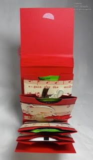 Crafting with Class: Gift Card Tea Bag Pocket Holder - photos; luv this idea with envelopes in a book Tea Holder, Card Holders, Origami, 3d Paper Crafts, Scrapbooking, Craft Fairs, Little Gifts, Small Gifts, Homemade Gifts