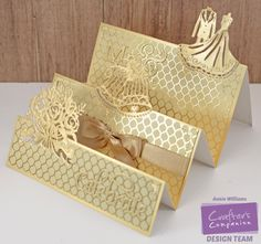 Golden Anniversary Triple Step Card featuring the Together Forever Collection…