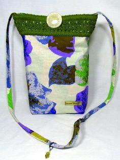 Crossbody bag Shoulder Bag Small Bag  by ReinventedThreads on Etsy