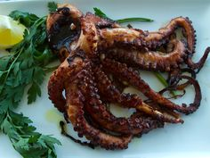 Grilled Octopus – Italian Food Forever