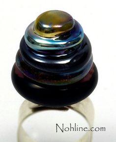 Nohline  Amethyst Statement Art Ring Topper by NohlineLEcuyer, $30.00