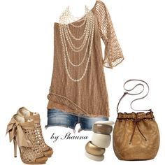 easy chic, created by shauna-rogers on Polyvore, love it