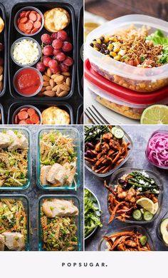 10 Easy-as-Can-Be Lunch Meal-Prep Options