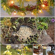 HOW TO; Make a Grapevine Wreath + 15 Design Ideas...Pruning this Winter?  Ways to use those clippings