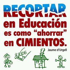 educacion Education Quotes, Leadership, Teacher, Signs, School, Chile, January, Facebook, Illustration