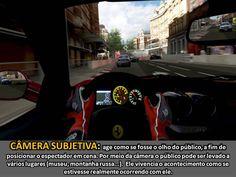 Câmera subjetiva - Jogo de corrida - PC