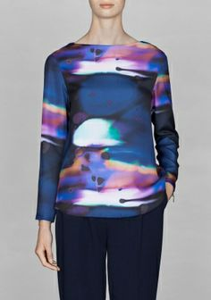 Reflections long sleeve top