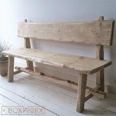 Outdoor, meubels voor uw tuin. Industrieel, landelijk of eigentijds. Alle producten worden door ons met de hand vervaardigd.