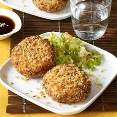 Strong flavors like coriander, ginger, chives, ponzo, and shallots reign in these Asian-Style Fish Cakes that start with your choice of tilapia, cod, or haddock.