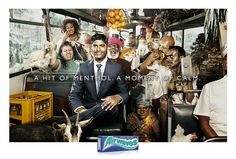 Airwaves Gum: Bus A hit of menthol. A moment of calm. Advertising Agency: DDB, South Africa
