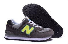 Sale Cheap New Balance 574 Made in Usa Green Blue Gray Mens Shoes Online, Best New Balance W574 on Sale