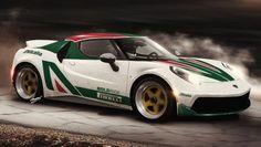 Nuova Lancia Stratos su base Alfa Romeo 4C
