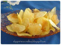 Cómo hacer patatas chip, como las de bolsa, en casa. ¡Es muy fácil!