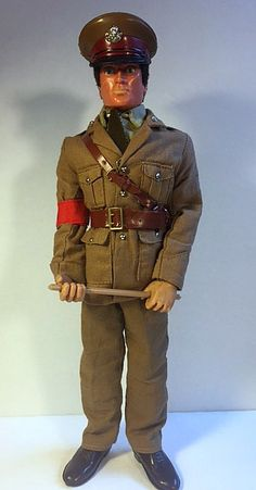 Vintage Action Man US helmet with chin strap late issue 1//6th scale