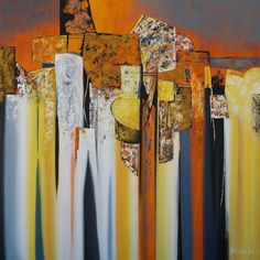 Jumble by Nancy Eckels - abstract, contemporary, modern art, painting, painting by artist Nancy Eckels