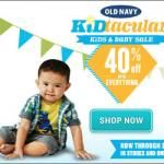 Shop Stylish Kids Fashions and Save 40% During the Old Navy Kids & Baby Sale, #ONKidtacular