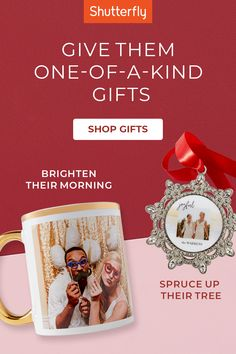 Get everyone on your nice list a gift just for them. From ornaments to mugs and everything in between, find exactly what they want this holiday.