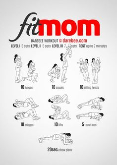 Fit Mom Workout with a free download
