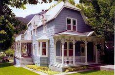 ouray Colorado Victorian home