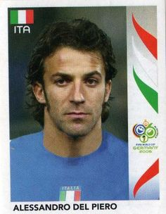 world cup panini germany 2006 - A. Del  Piero